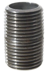 """Stainless Nipple - 3/8""""x1"""" Threaded (Close)"""