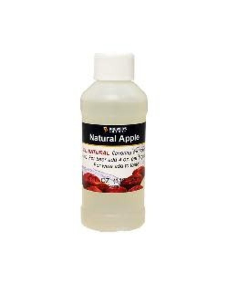 LD CARLSON APPLE FLAVORING EXTRACT 4 OZ