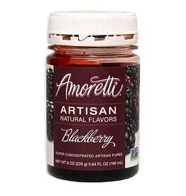 LD CARLSON AMORETTI® BLACKBERRY ARTISAN FRUIT PUREE 8 OZ