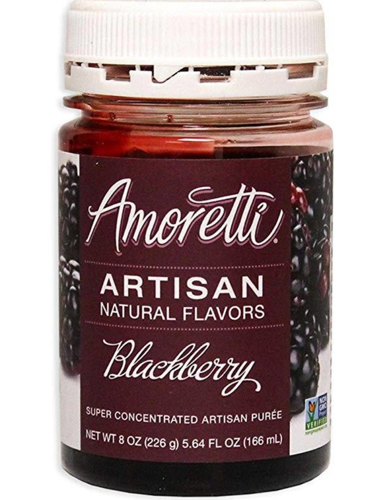 AMORETTI® BLACKBERRY ARTISAN FRUIT PUREE 8 OZ