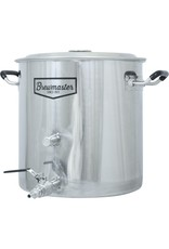 BREWMASTER 8.5 Gallon Brewmaster Stainless Steel Brew Kettle