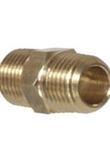 "Gas Manifold Parts - 1/4"" Nipple"