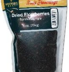 DRIED ELDER- BERRIES 8 OZ