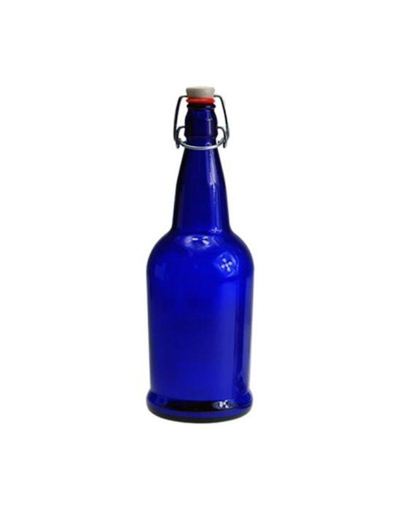 EZ CAP BOTTLES  16oz COBALT BLUE