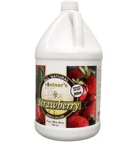 STRAWBERRY FRUIT WINE BASE 128 OZ (1 GAL)