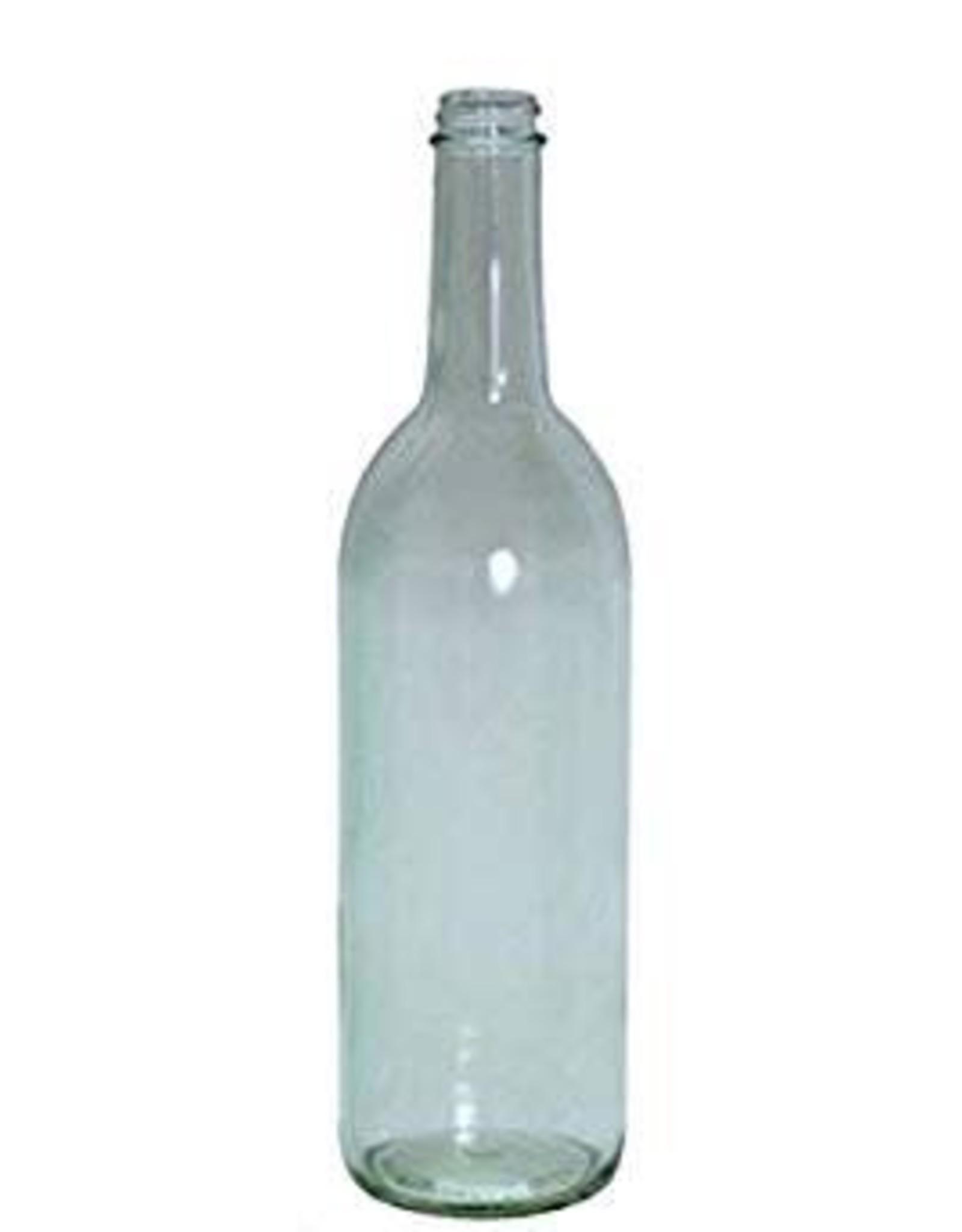 750 ml  SCREW TOP BOTTLE-CLEAR