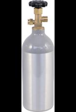 CO2 Tank - 2.5 lb Aluminum