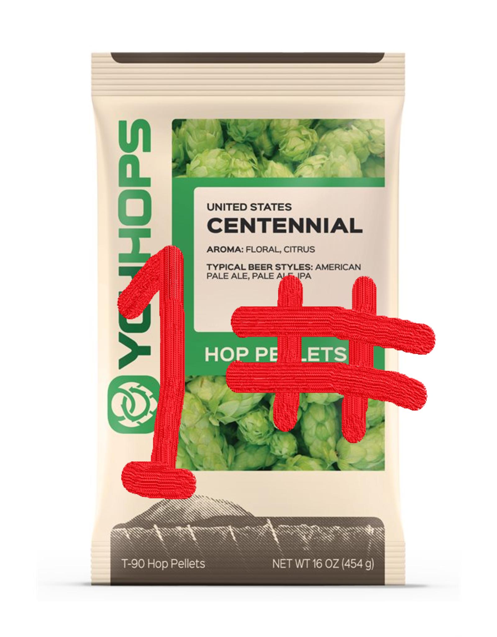 CENTENNIAL HOP PELLETS - 1 lb.