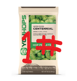 CENTENNIAL HOP PELLETS - 1 lb. package