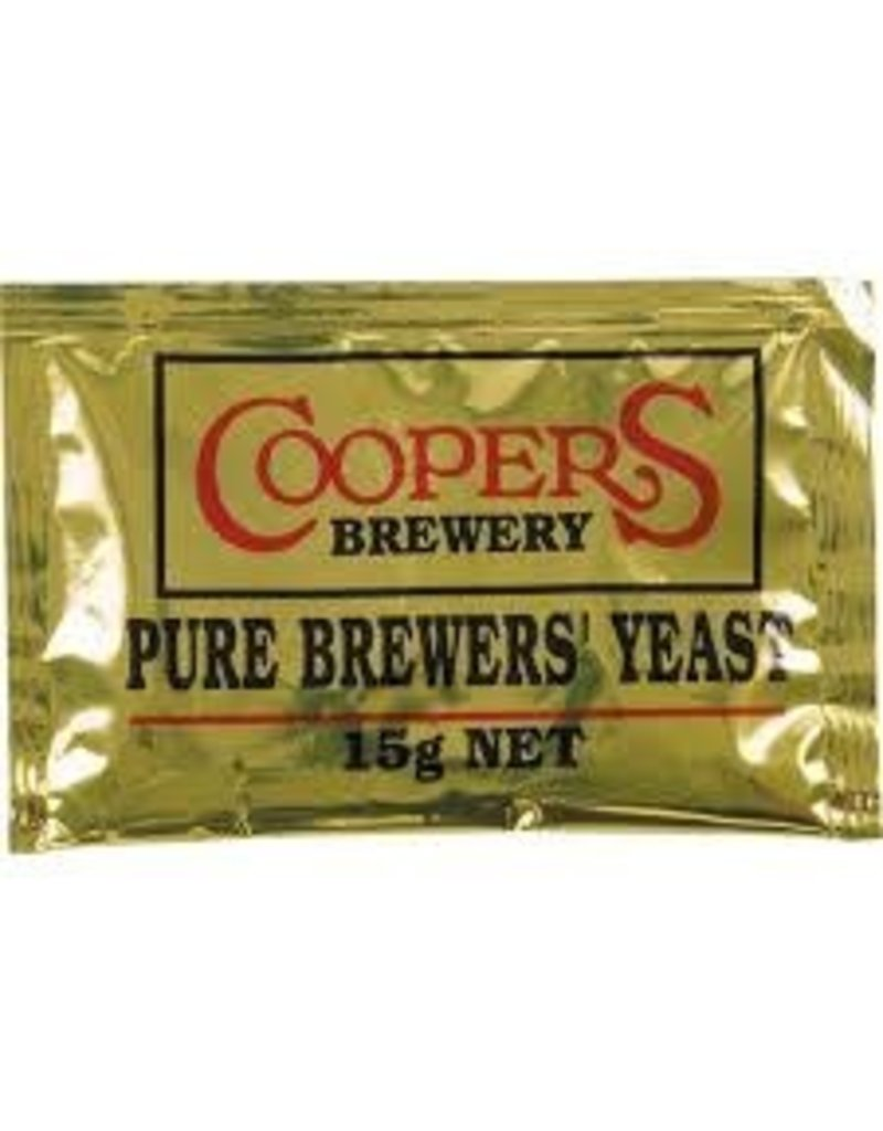 COOPER PURE BREWING YEAST- 15g