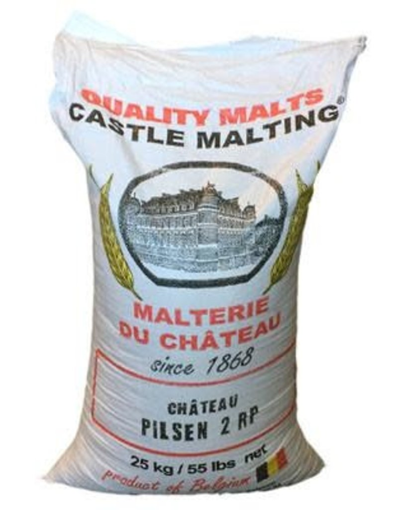Château Pilsen(Belgian pilsner)- 55lb