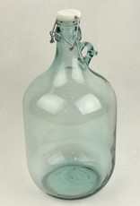 5 LITER GLASS JUG WITH SWING CAP