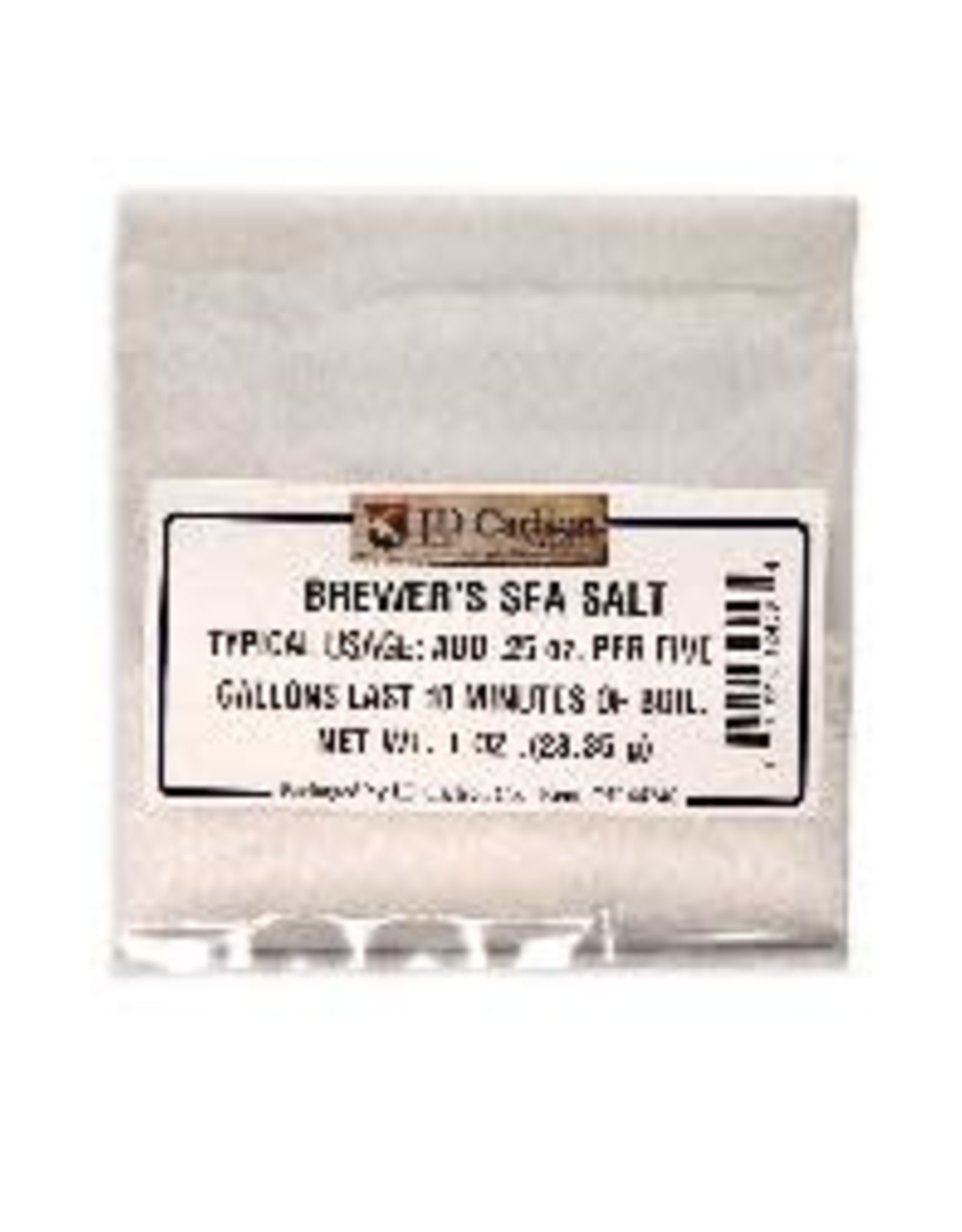 BREWER'S SEA SALT 1 OZ