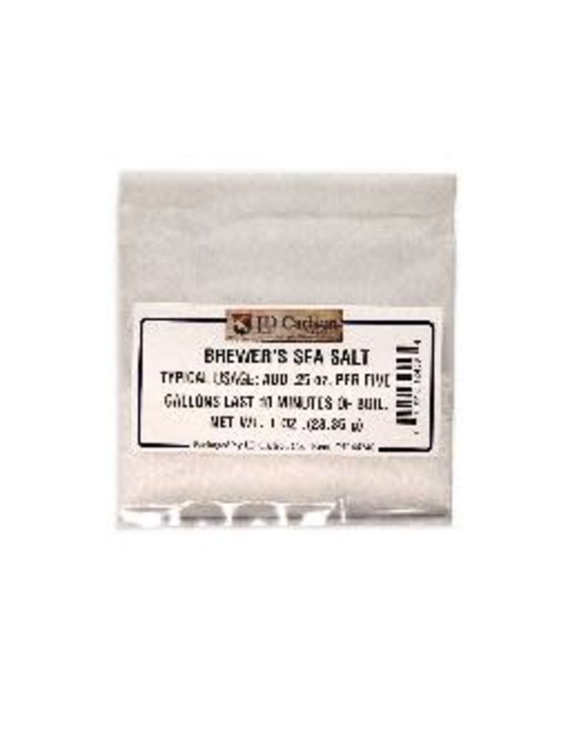 BREWER'S SEA SALT 1 OZ