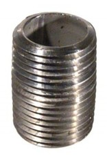 """Stainless Nipple - 1/2'' x 1"""" Threaded (close)"""