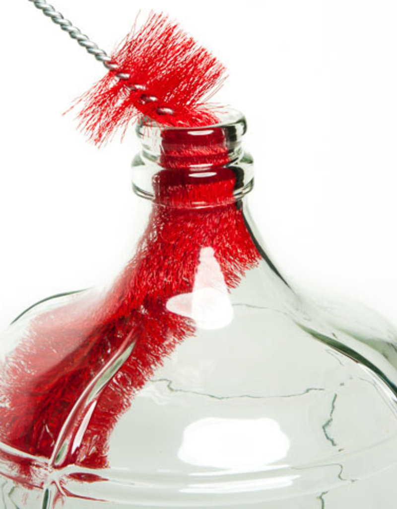SOFT RED BRISTLE CARBOY BRUSH