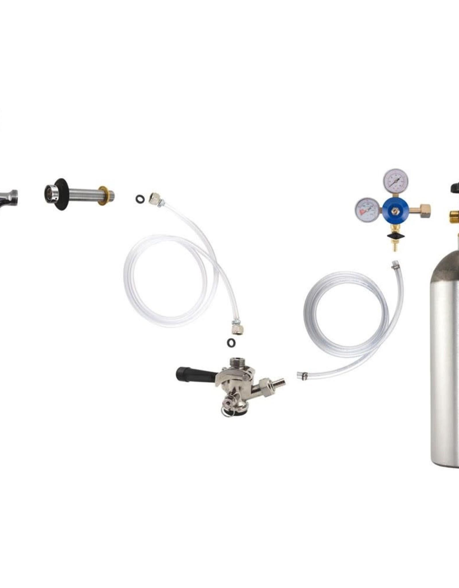 Door mount fridge conversion kit (1 keg)