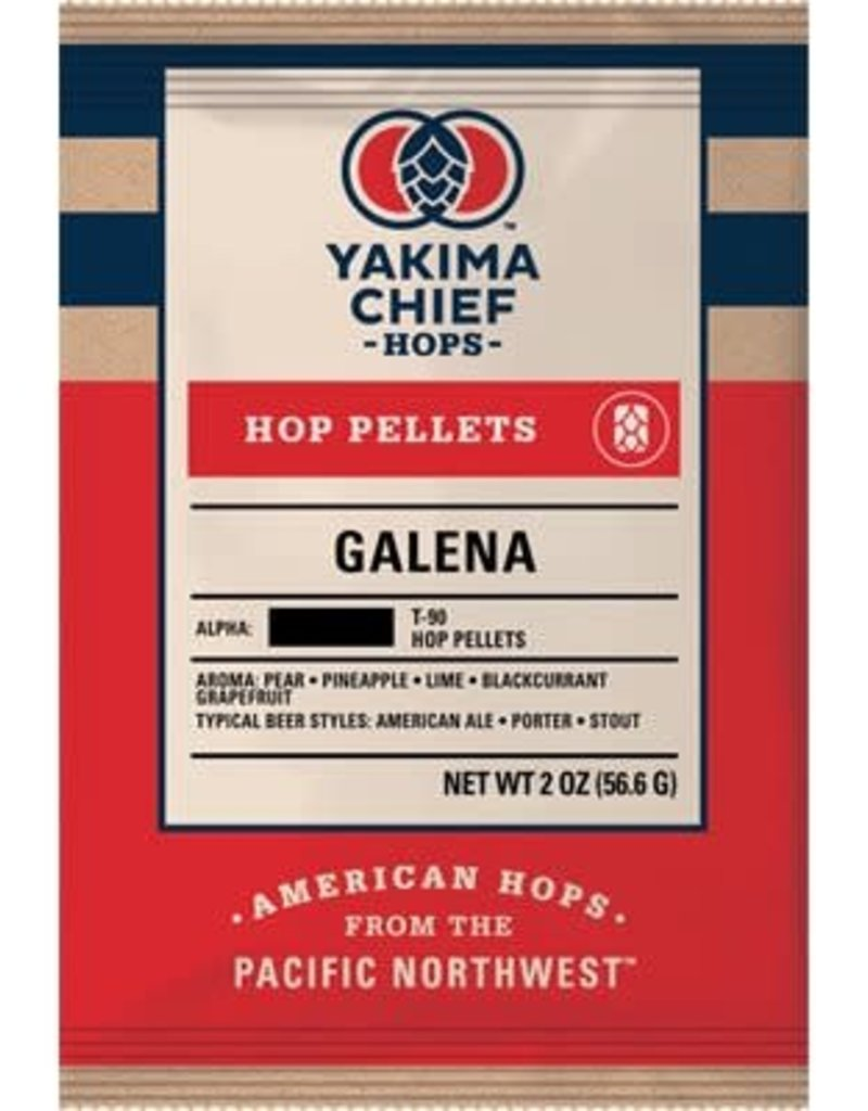 GALENA HOP PELLETS- 2 oz. package