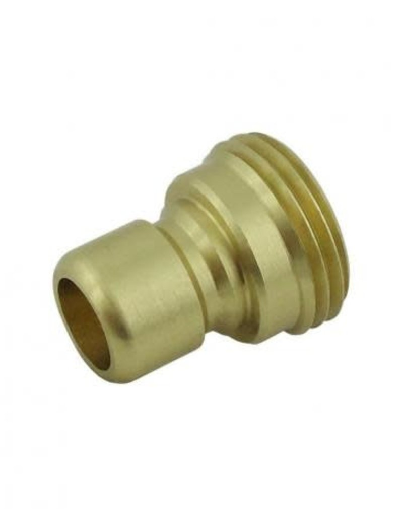 "Male Coupler x 3/4"" MGH"