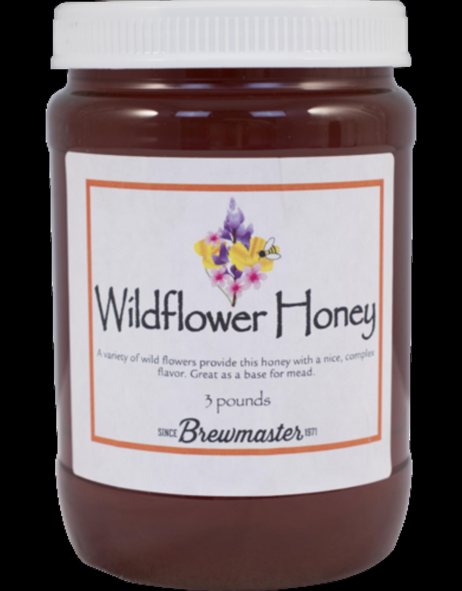 WILDFLOWER HONEY 3lb JAR