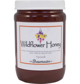 WILDFLOWER HONEY 3lb JAR