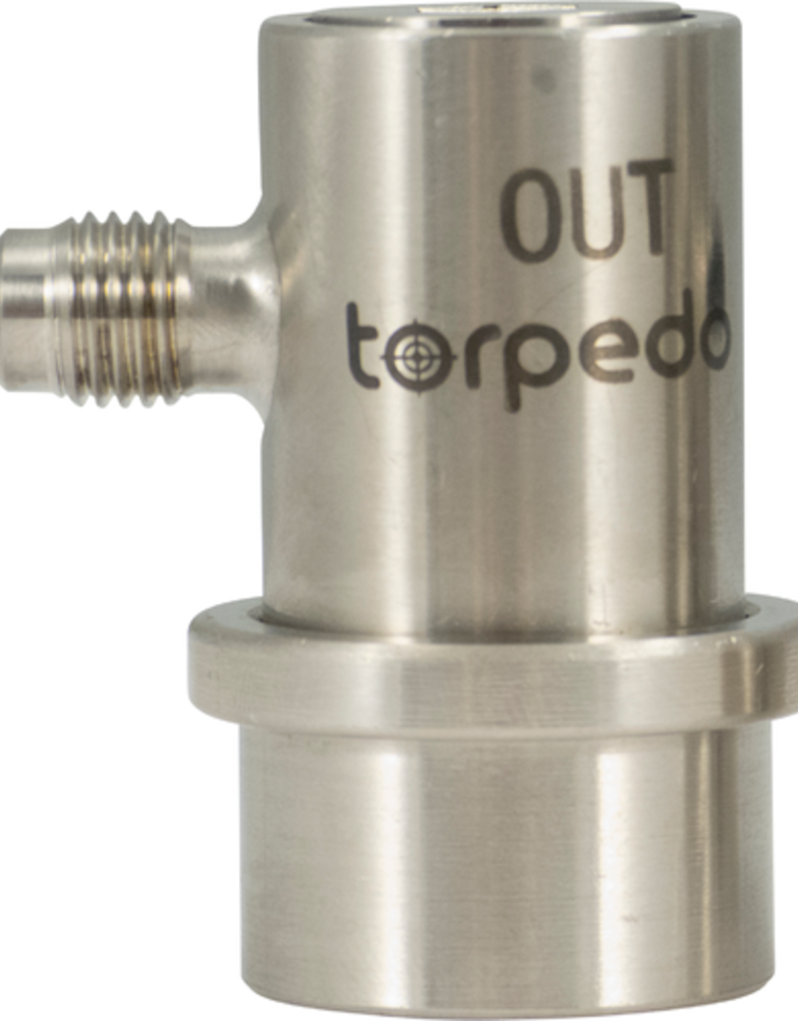 Torpedo Ball Lock Disconnect Beverage Out (Stainless) - Flare