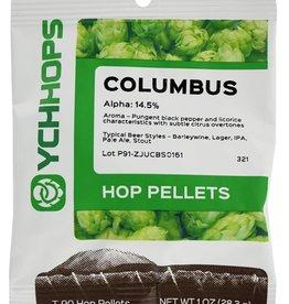 COLUMBUS Hop Pellets- 1 oz.