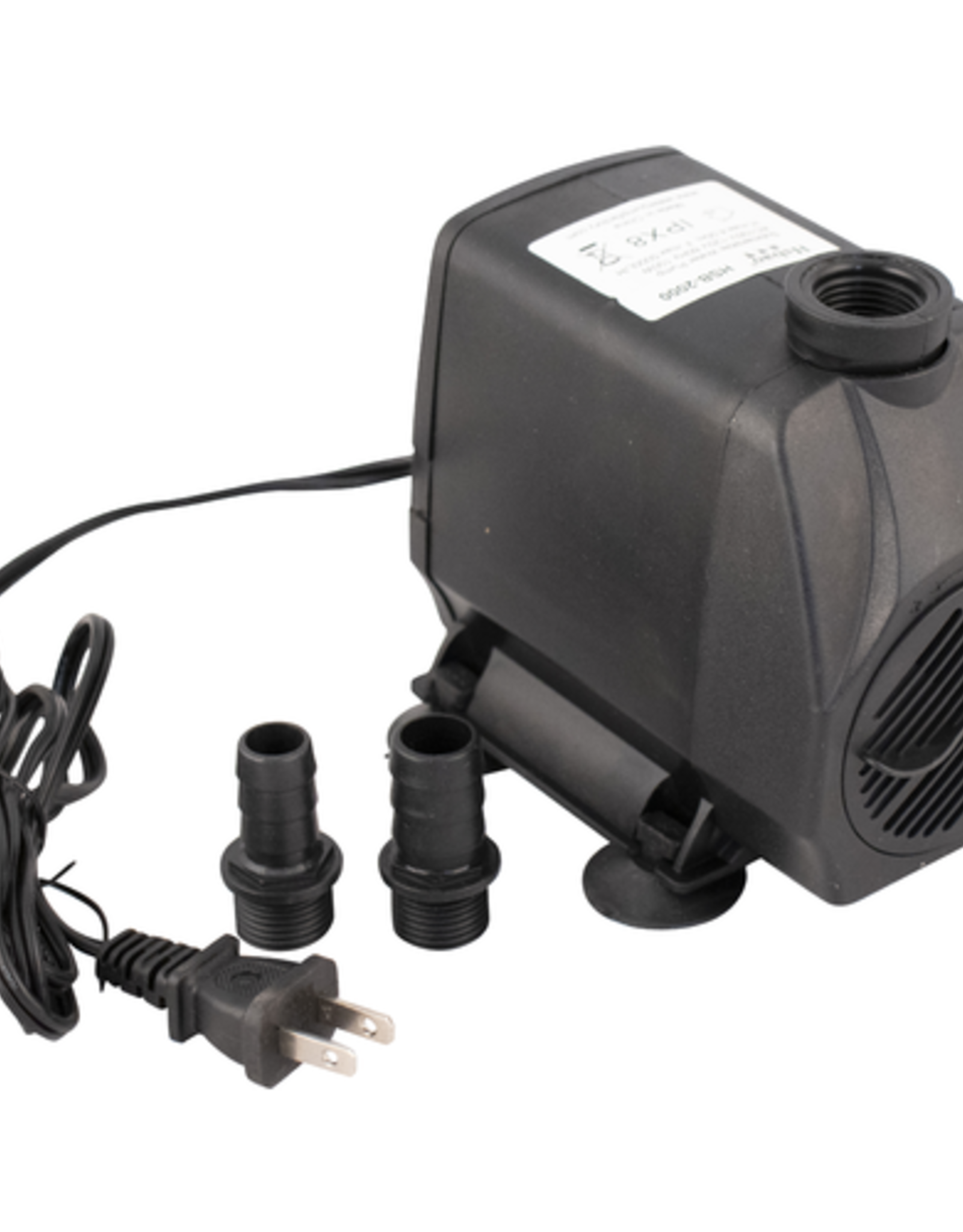 Submersible Pump - 10 gal. to 2 bbl (1300 gph)