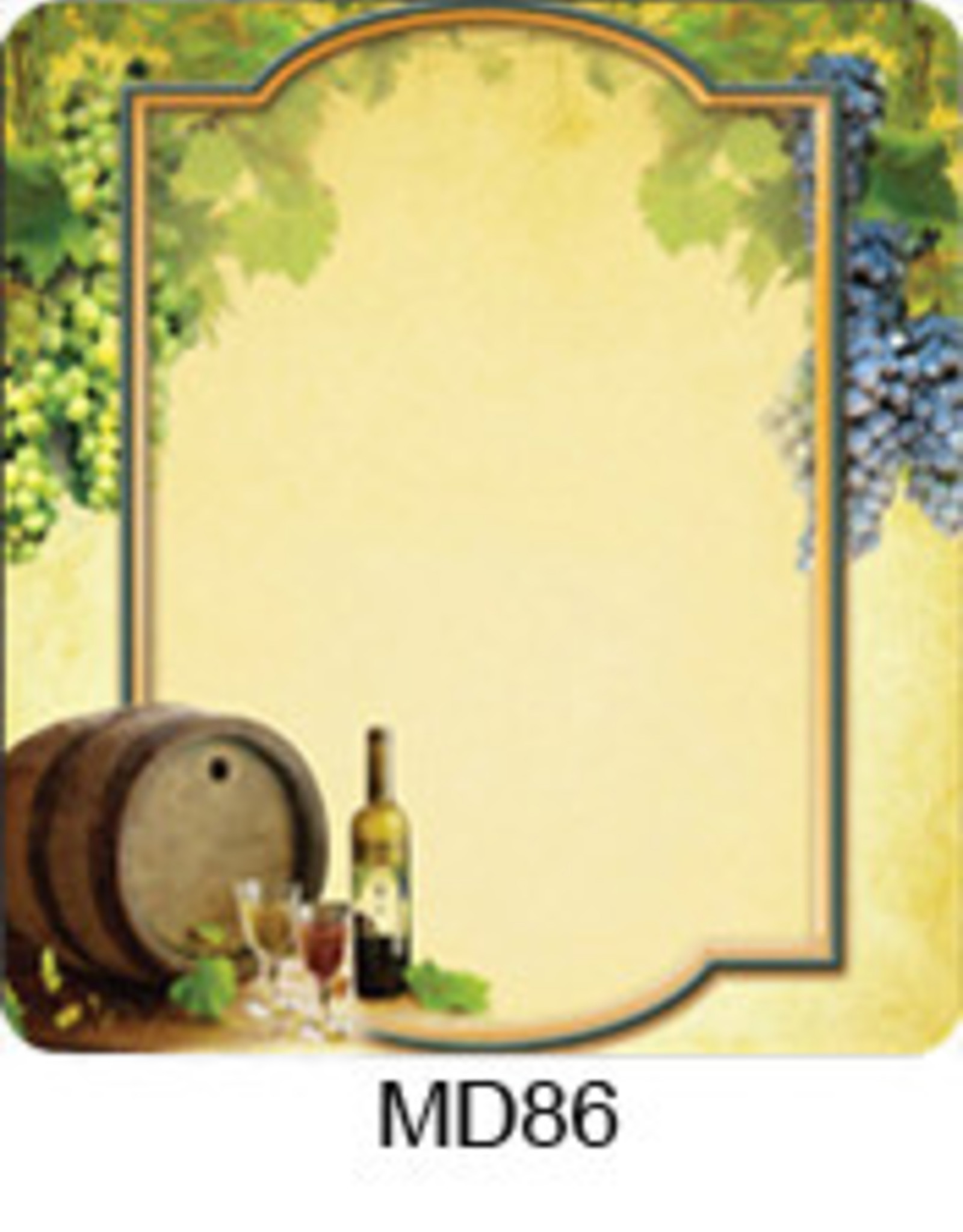 MacDay Label MacDay (Grapes on the Vine) 30pk Labels