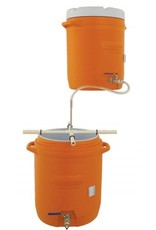 Mash Tun & Hot Liquor Tank All Grain Home Brewing System - 10 gal. Coolers