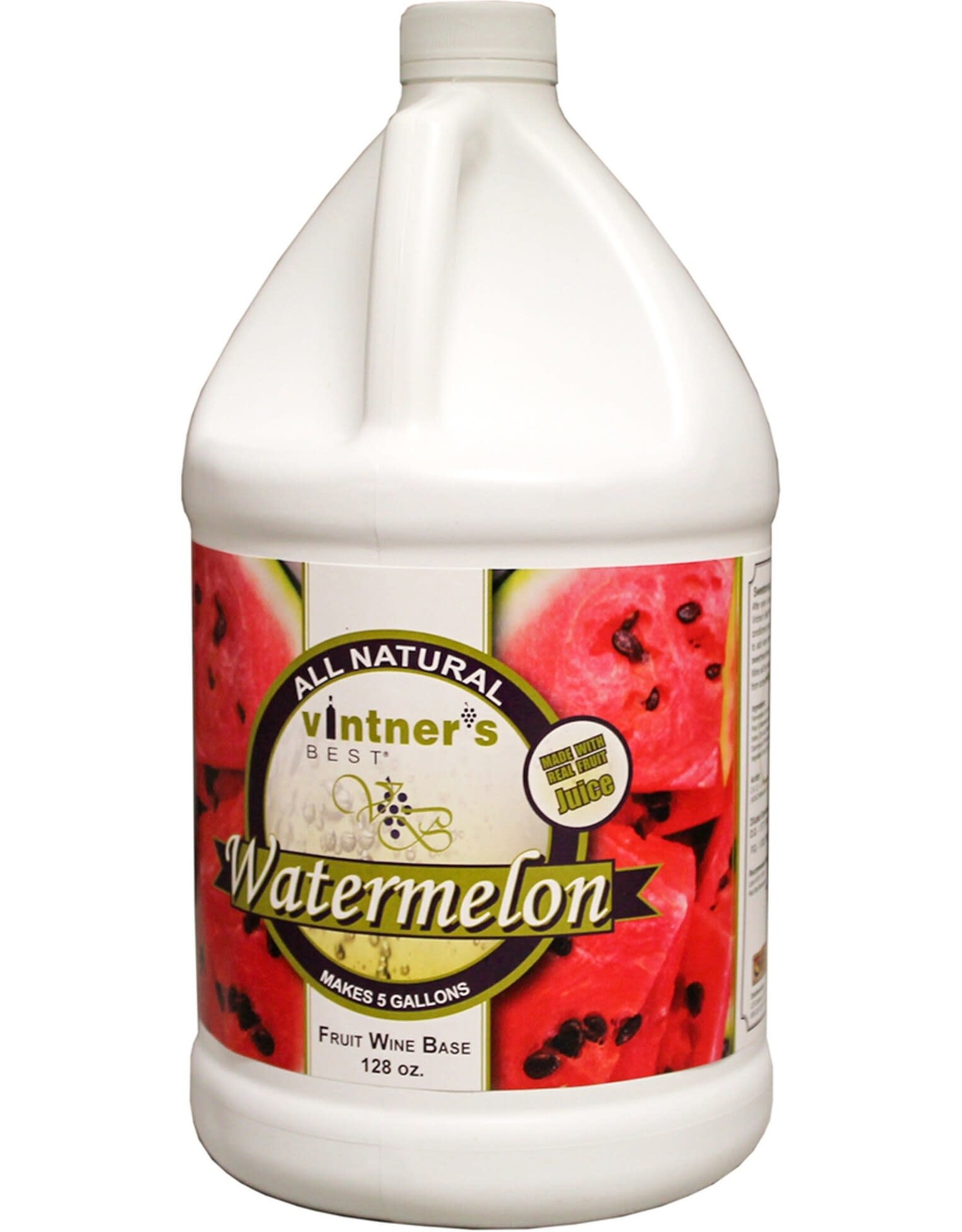 VINTNERS BEST WATERMELON Fruit Wine Base - 128 oz. Jug