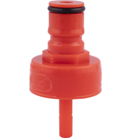 KEG LAND Carbonation and Line Cleaning Ball Lock Cap - Plastic
