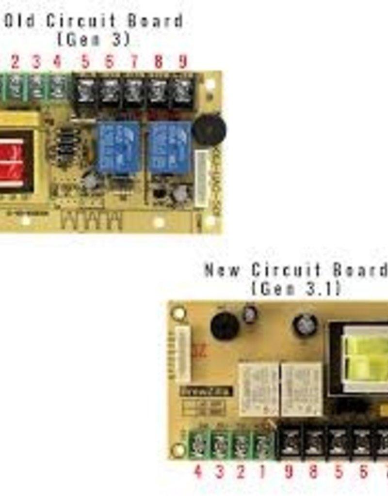 KEG LAND Replacement Main Circuit Board for 110v Robobrew/Brewzilla- Gen 3.1