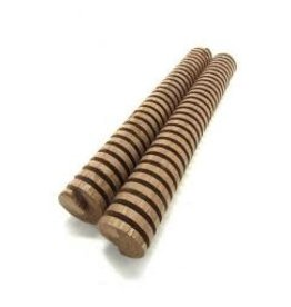 "INFUSION OAK SPIRAL - AMERICAN LIGHT TOAST 8"" 2/PK"