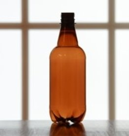 PET 1/2 Liter Beer Bottle, case of 24