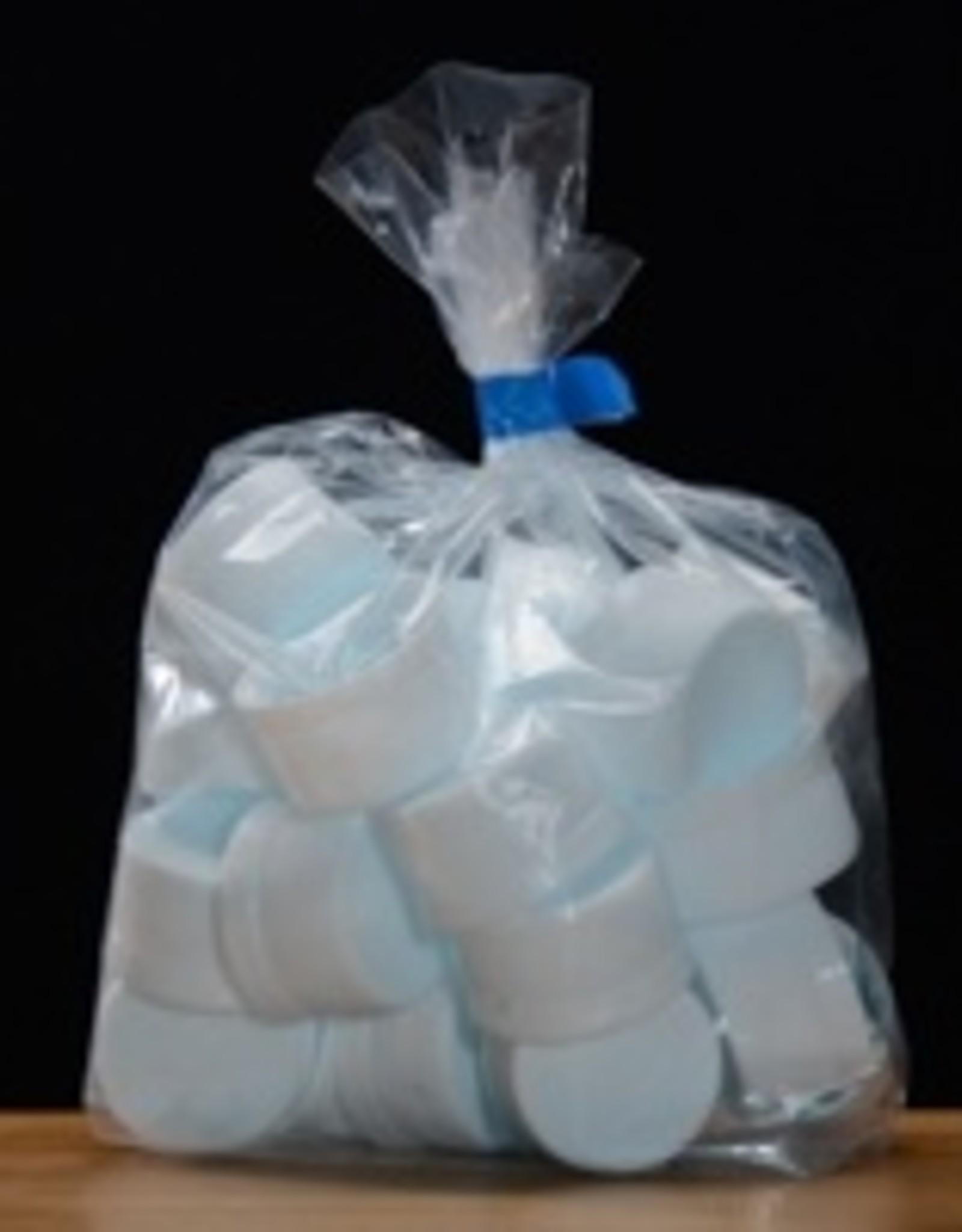 Plastic tamper evident Screw Caps, 28mm, bag of 25
