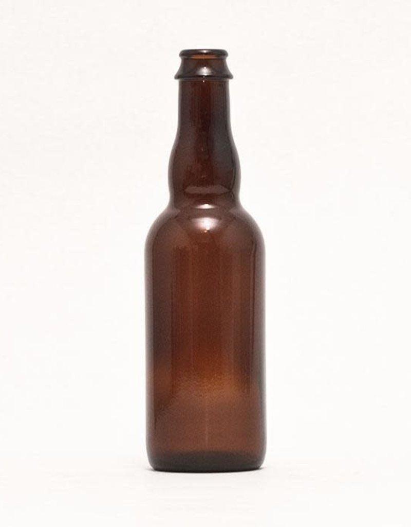375 ml Belgian-style Beer Bottles - Crown Finish (Case of 12)