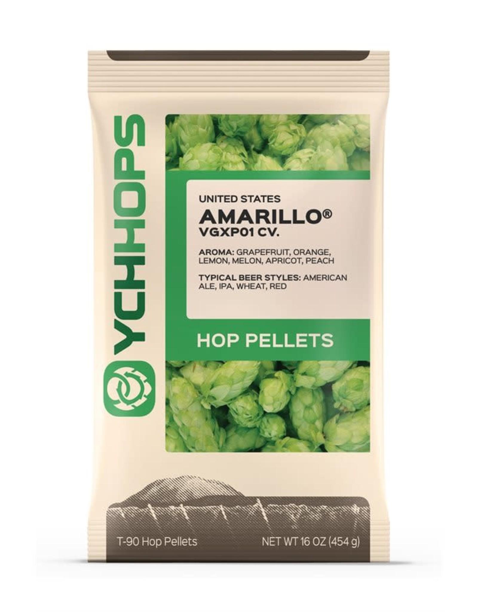 AMARILLO HOP PELLETS - 1 LB