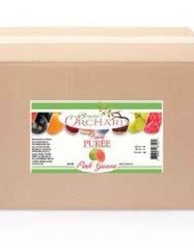 BREWER'S ORCHARD BREWER'S ORCHARD NATURAL PINK GUAVA FRUIT PUREE 4.4 LB