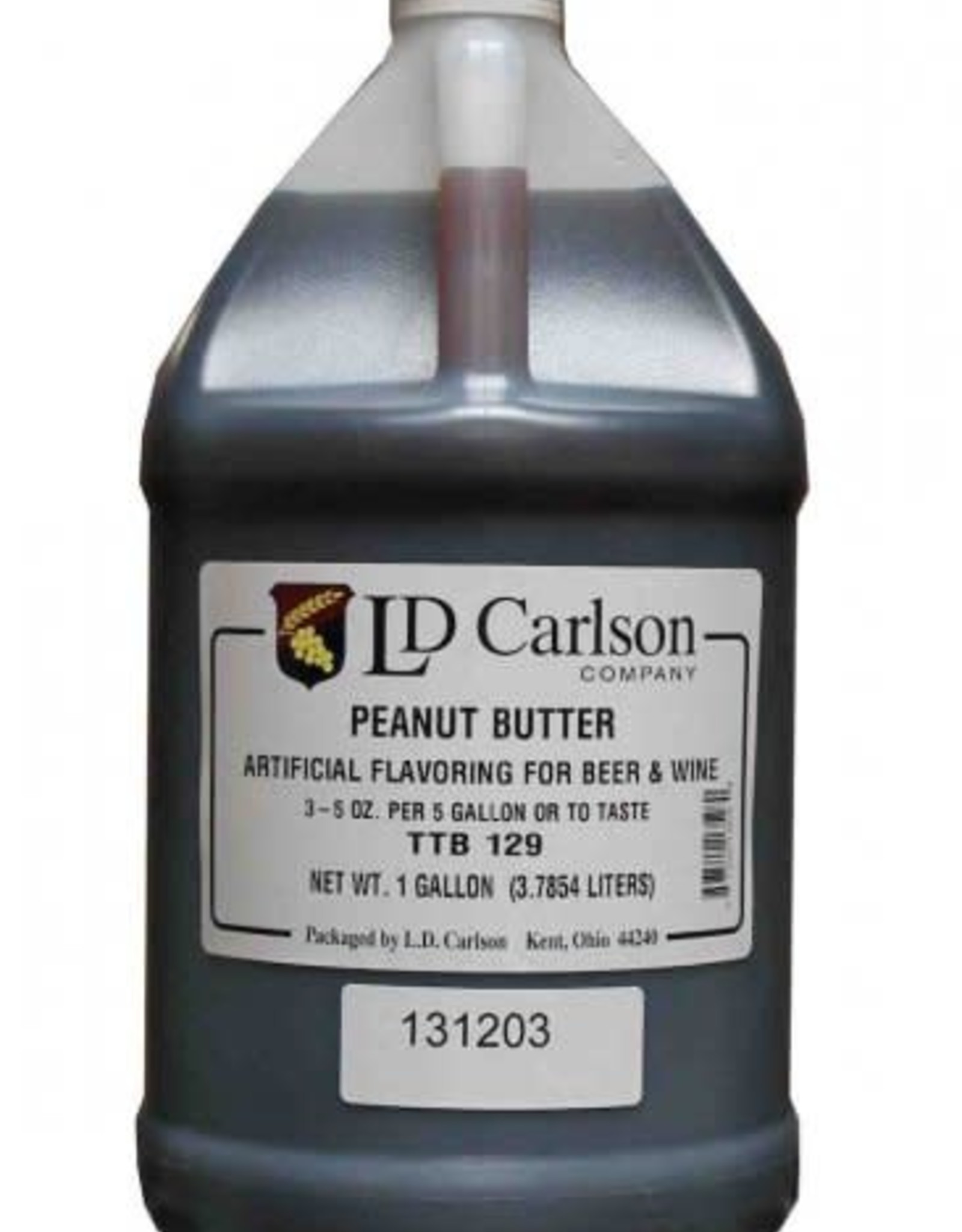 NATURAL PEANUT BUTTER FLAVORING EXTRACT 128 OZ