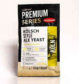 LALLEMAND LALLEMAND  KOLSCH STYLE ALE BREWING YEAST 11 GRAM