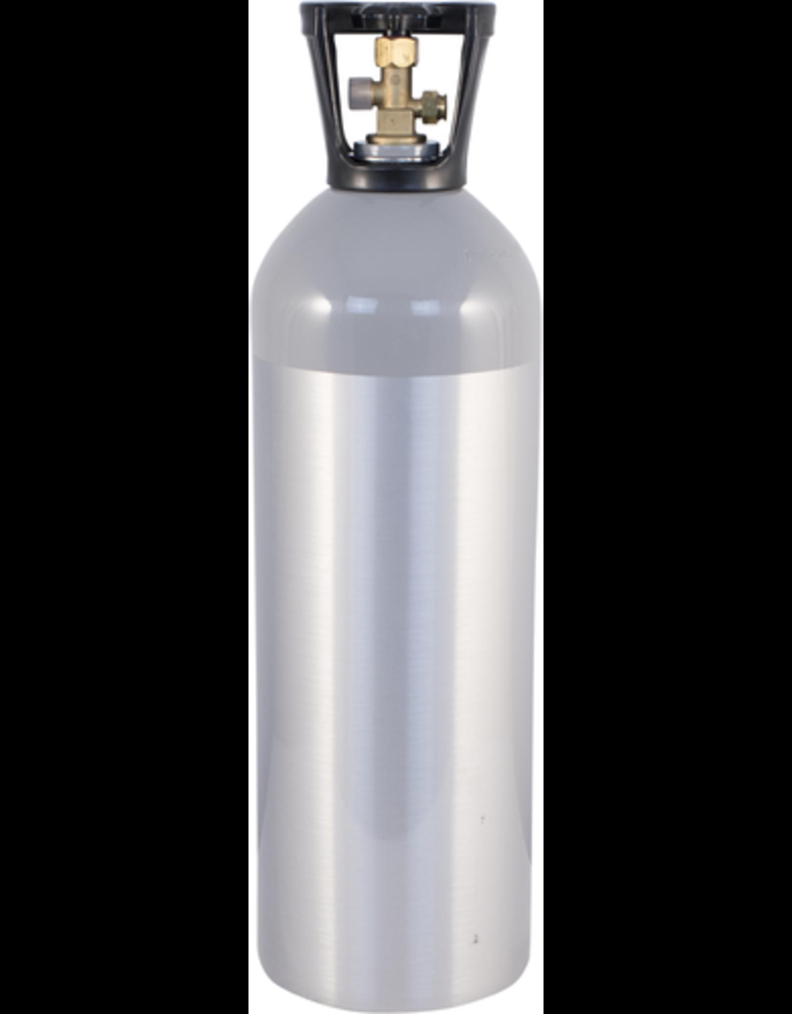 CO2 Tank - 20 lb Aluminum