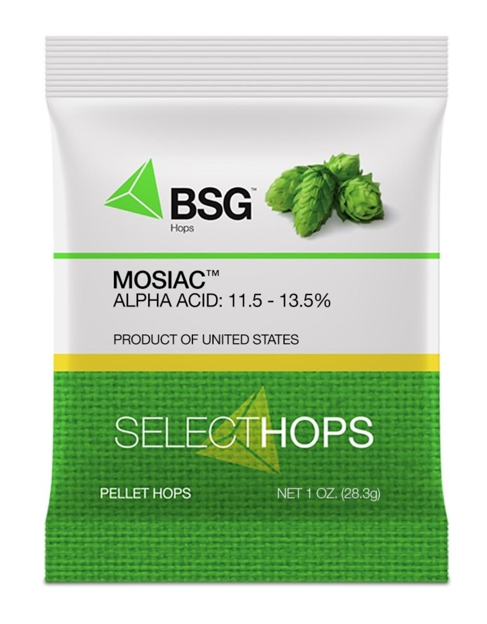 MOSAIC hop pellets- 1 oz. pkg