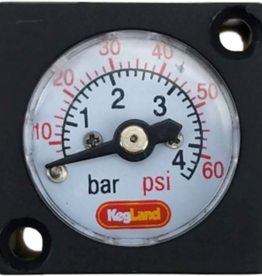 KEG LAND Mini Pressure Gauge (0-60 psi)