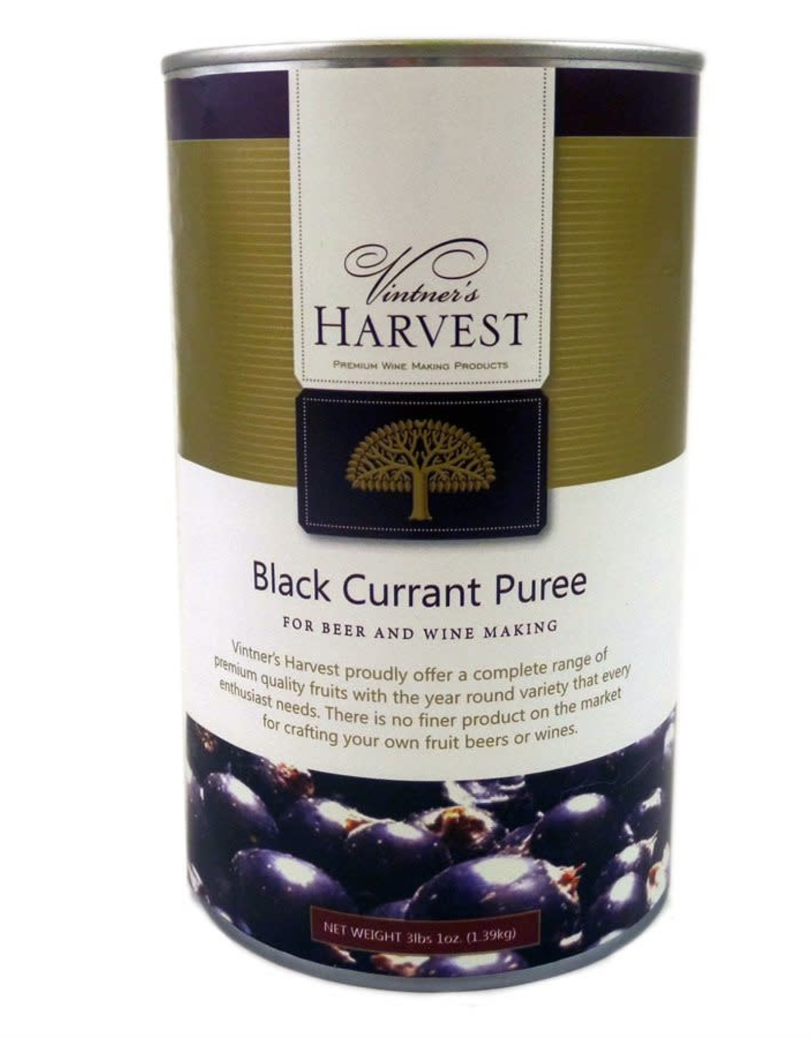 VINTNERS HARVEST BLACK CURRANT PUREE- 49 oz.