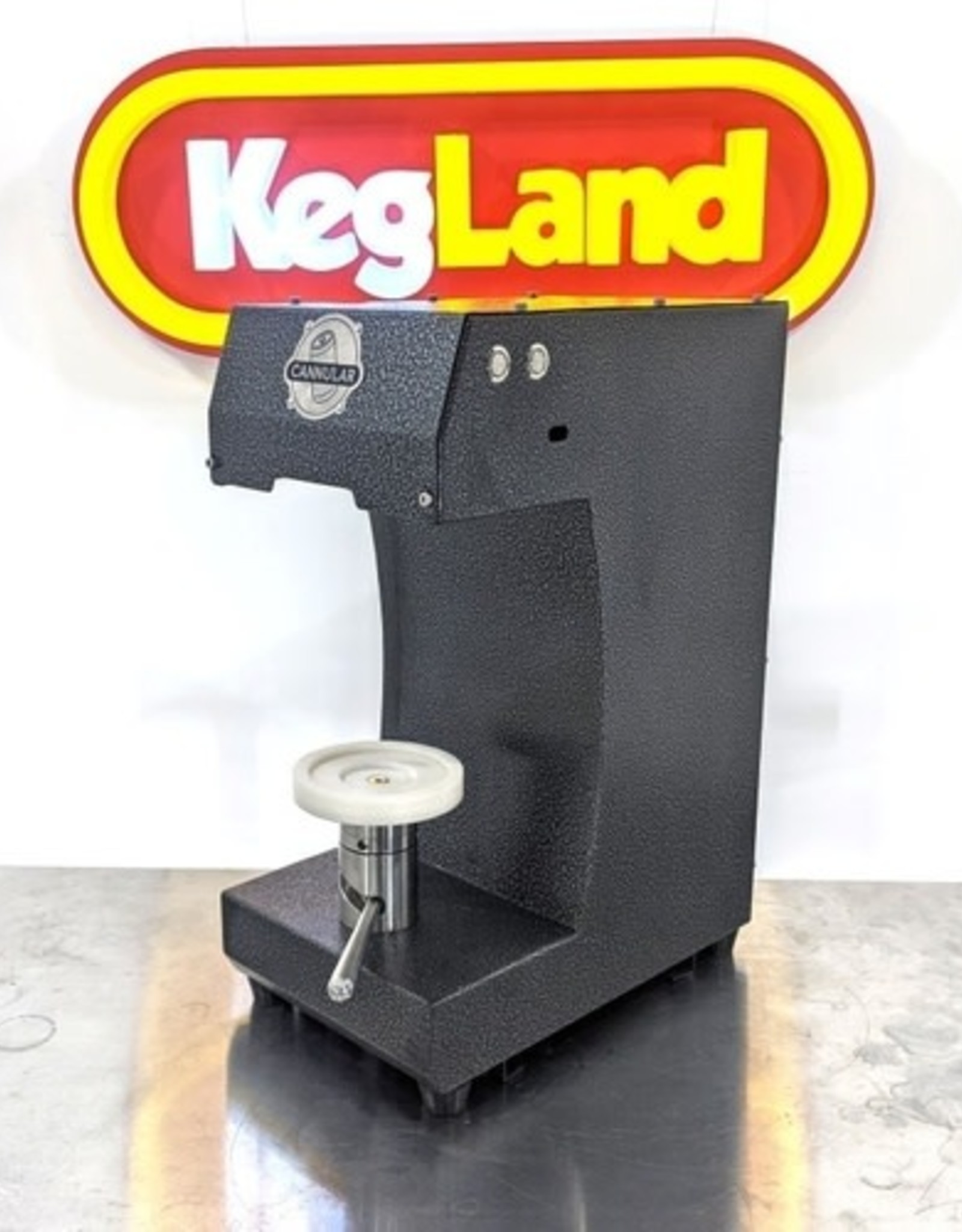 KEG LAND Cannular Pro Semi-Auto Bench Top Can Seamer