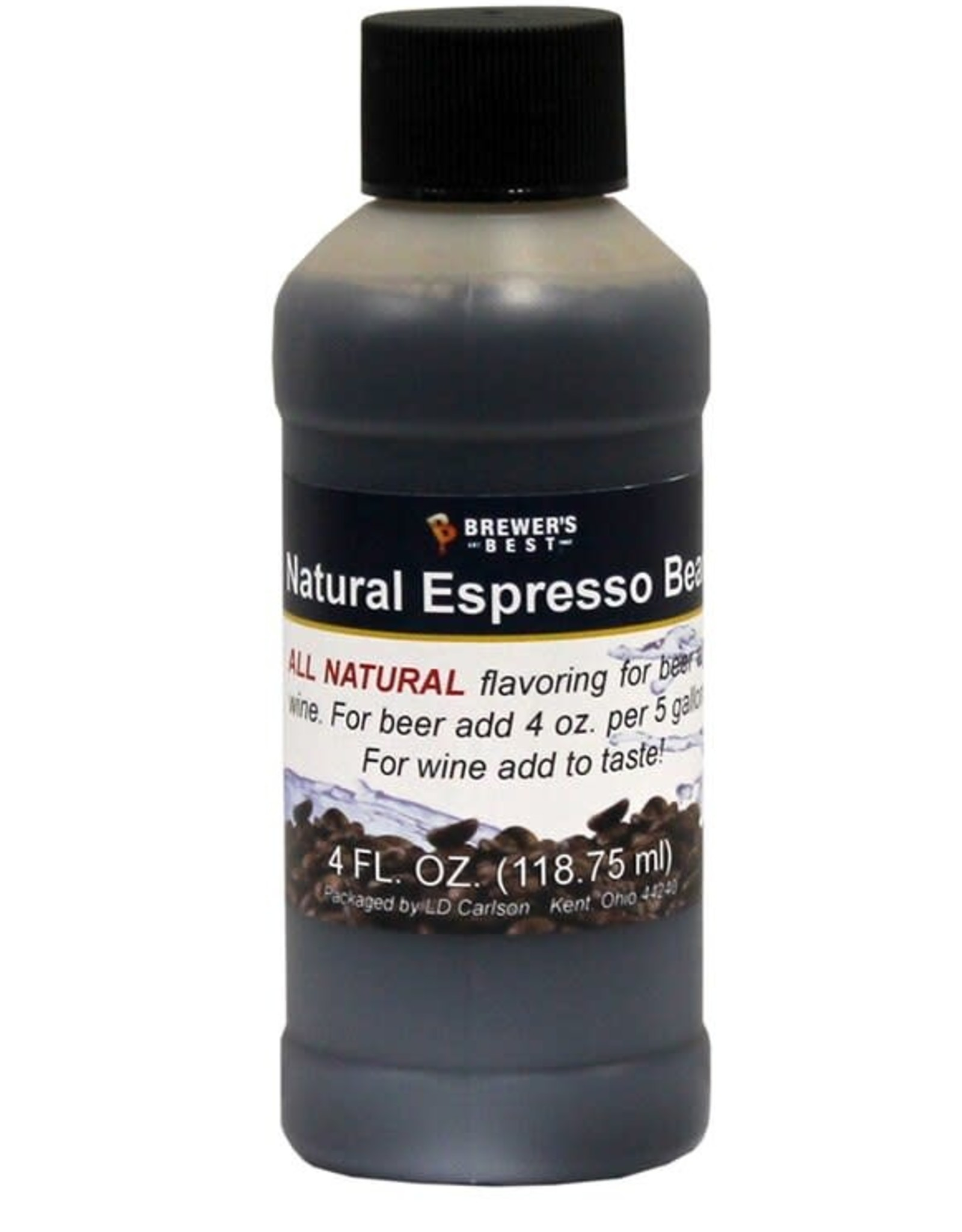 BREWER'S BEST Natural Espresso Bean Flavoring 4 oz