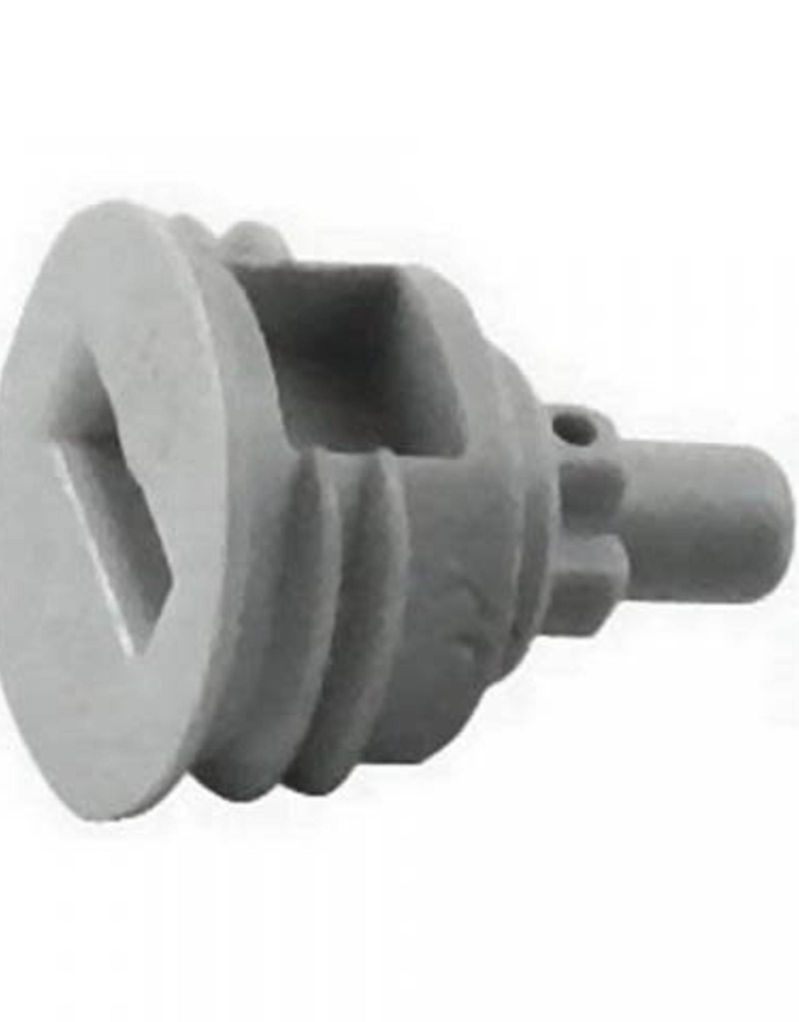 Disconnect Cap Plug, Ball Lock (Gray)