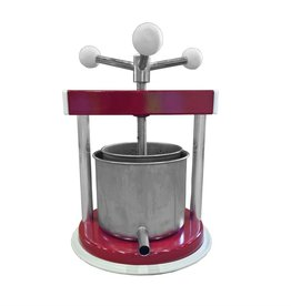 FRUIT PRESS, 1.3 L ALUMINUM / STAINLESS STEEL