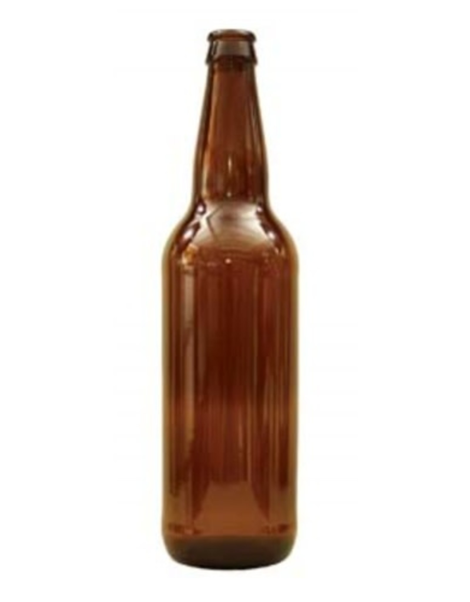 22 OZ AMBER BEER BOTTLES (12/CASE)